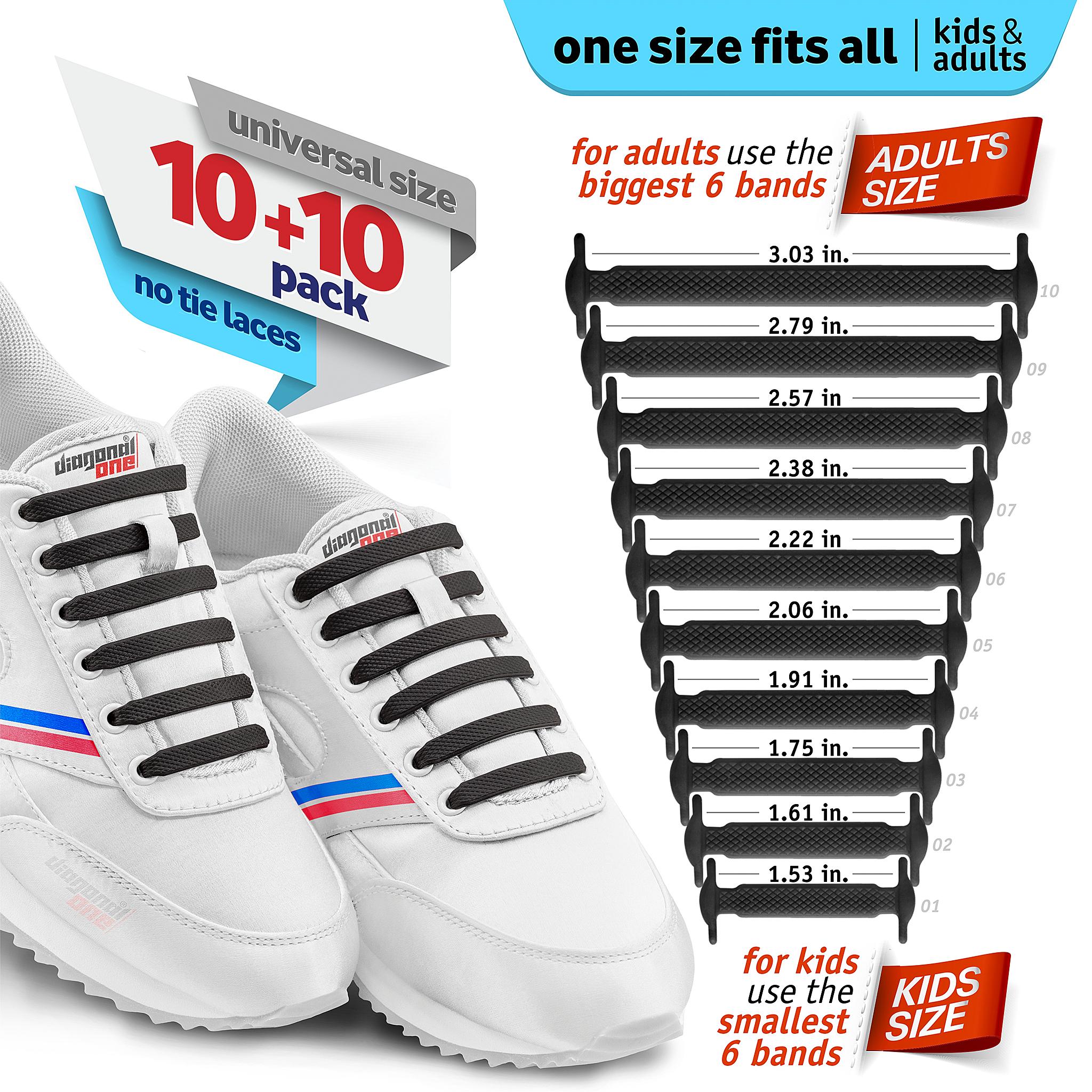 824cca7236566 Products | Diagonal One® / No Tie Shoelaces Evolution